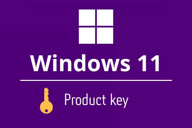 windows 11 pro key
